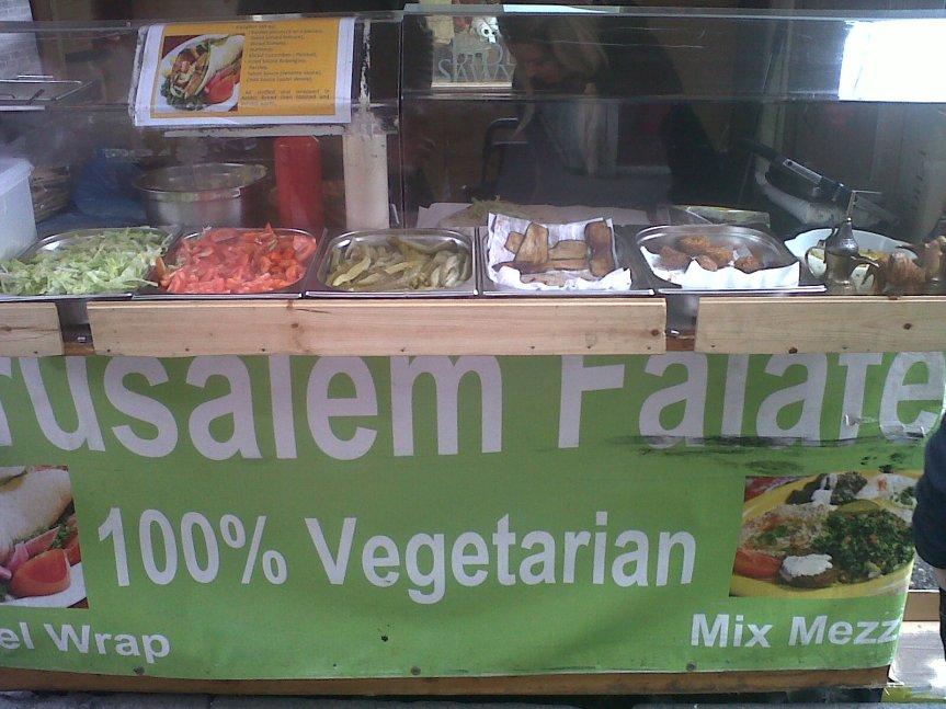 Jerusalem Falafel - Berwick Market